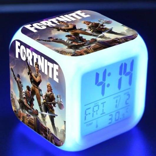 フォートナイト LEDデジタル目覚まし時計 ゲーム Fortnite    プレゼント クリスマス ギフトにも 5