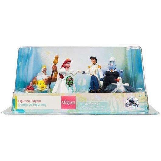 ディズニー Disney フィギュア おもちゃ The Little Mermaid Exclusive 7-Piece PVC Figure Set