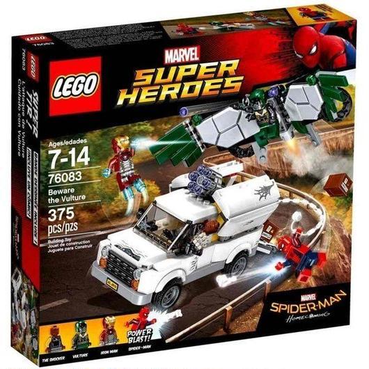 マーベル Marvel Super Heroes レゴ LEGO おもちゃ Spider-Man Homecoming Beware The Vulture Set #76083