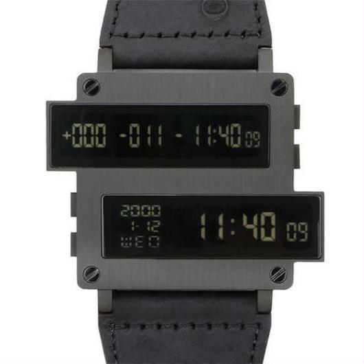 TOMORO  デジタルウォッチ デュアルディスプレイ クォーツ腕時計 TOMORO デジタルウォッチ デュアルディスプレイ クォーツ腕時計