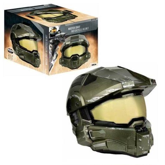 ヘイロー ネカ NECA Halo Master Chief Motorcycle Helmet Replica, Not Mint