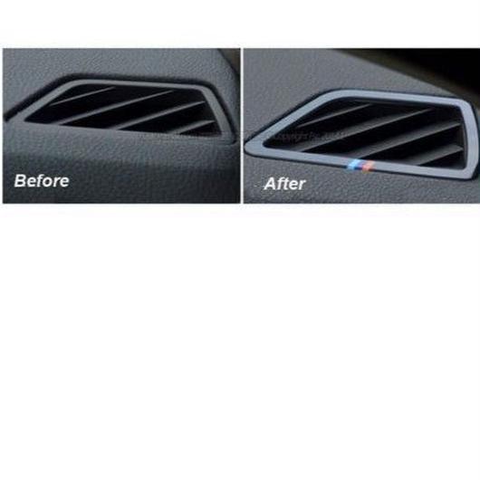 BMW エアコン カバー 2個入 アクリル Mパフォーマンス Mエンブレムカー F10 525i 528i 530i 535i h00286