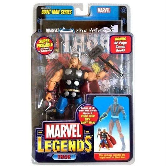 マイティ ソー Thor トイビズ Toy Biz フィギュア おもちゃ Marvel Legends Giant Man Build A Figure Exclusive Action Figure