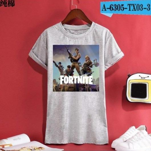 Fortnite フォートナイト ロゴ デザイン 綿100%  Tシャツ トップス  ユニセックス メンズ レディース  13