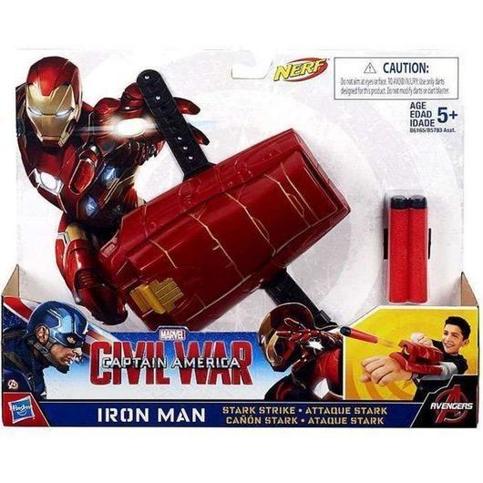 アイアンマン Iron Man ハズブロ Hasbro Toys おもちゃ Captain America Civil War Stark Strike Roleplay Toy
