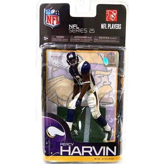 マクファーレントイズ McFarlane Toys フィギュア おもちゃ NFL Minnesota Vikings Sports Percy Harvin Action Figure