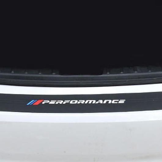 BMW ステッカー パフォーマンスゴム リアバンパー トランク e39 e46 e90 f30 f10 f01 f20 h00069