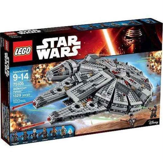 スターウォーズ Star Wars レゴ LEGO おもちゃ The Force Awakens Millennium Falcon Set #75105