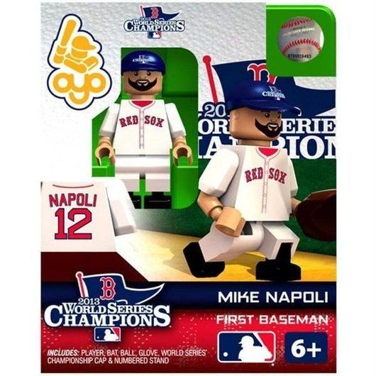 MLB Oyo フィギュア おもちゃ Boston Red Sox 2013 World Series Champions Mike Napoli Minifigure
