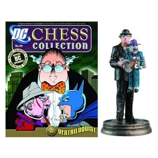 ディーシー イーグルモスパブリケーションズ EAGLEMOSS PUBLICATIONS DC Superhero Chess Figure  - Ventriloquist Black Pawn