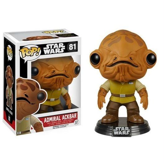 スターウォーズ ファンコ FUNKO Pop! Star Wars: Episode VII - Admiral Ackbar