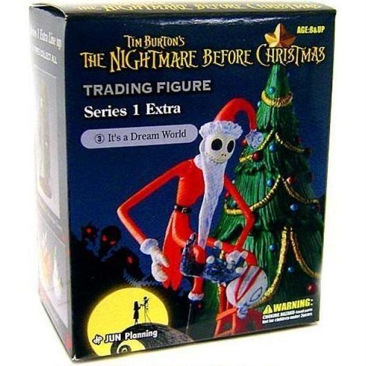 ナイトメア ビフォア クリスマス ジュンプランニング フィギュア おもちゃ The Series 1 Extra It's A Dream World Trading Figure #3