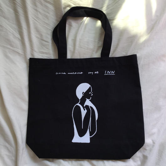 akira muracco × INN|GIRL STAY AT TOTE BAG