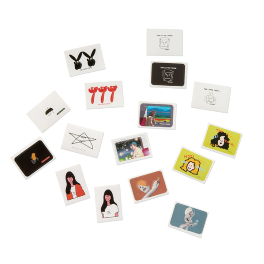 THE LATTE TOKYO|ARCHIVE STICKERS LUCKY BAG(2015-2018)