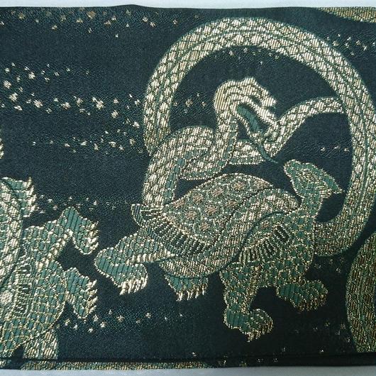 066SZ-GWG-A 金襴 四神シリーズ 玄武(御朱印帳約16cmx11.5cm対応)