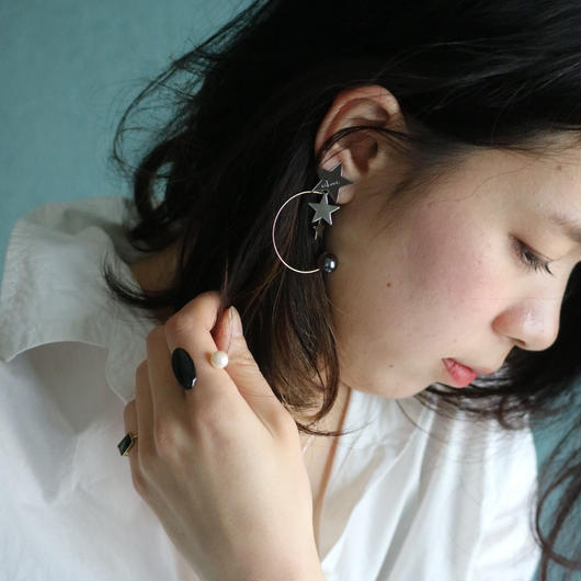 PLANET-normal  gold・silver/pierce・earring