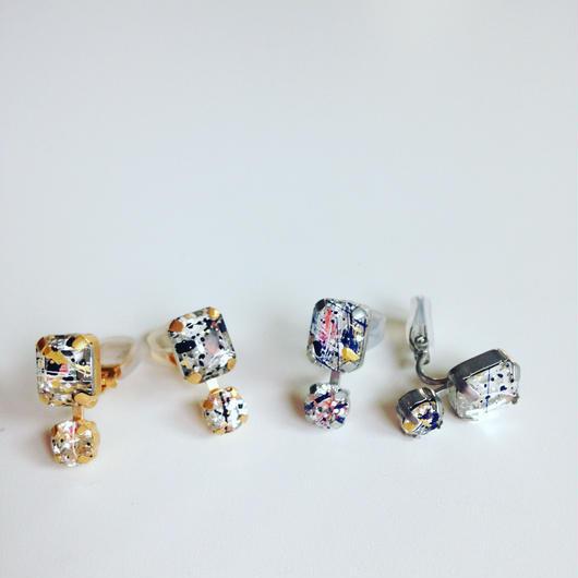 painting pierce / earring
