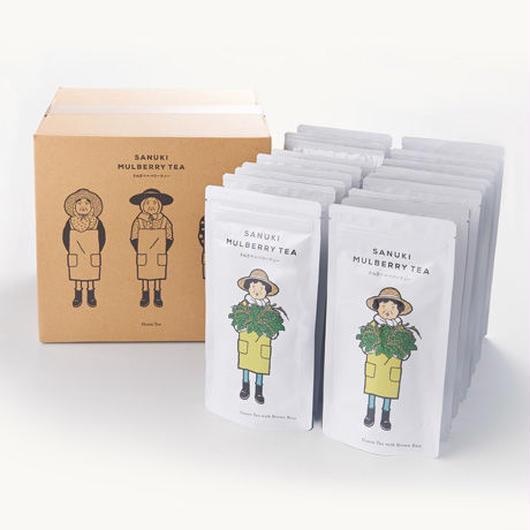 さぬきマルベリーティー【桑茶玄米ティーバッグ20個セット(箱・オリジナルギフト袋(20P)付き)】