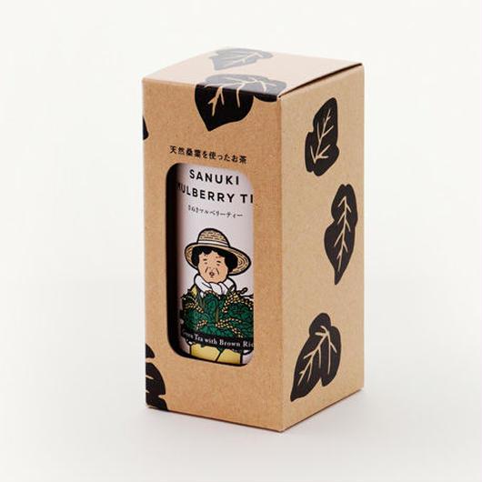 さぬきマルベリーティー【桑茶玄米ティーバッグ、缶・箱入り】