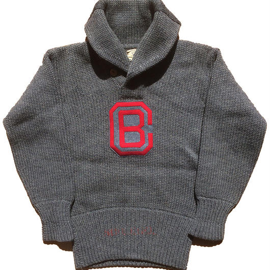 【SPECIAL!】1930's〜 culver ミリタリーアカデミー ショールカラーセーター