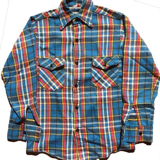 【14 1/2 】1970's〜FROST PROOF ヘビーフランネルシャツ