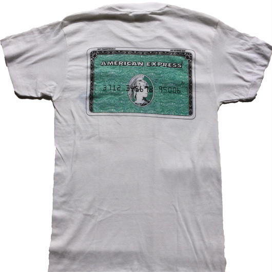 1980's American Express novelty t-shirt