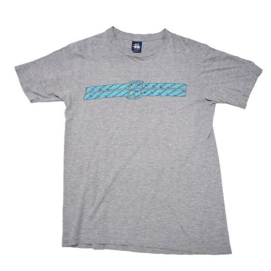 1990's USA製 STUSSY シャネルロゴ T-shirts  表記(M)