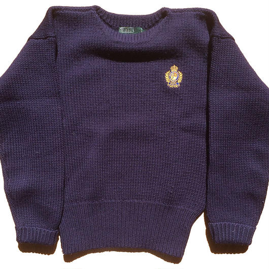 Ralph Lauren HEAVY WOOL クルーセーター