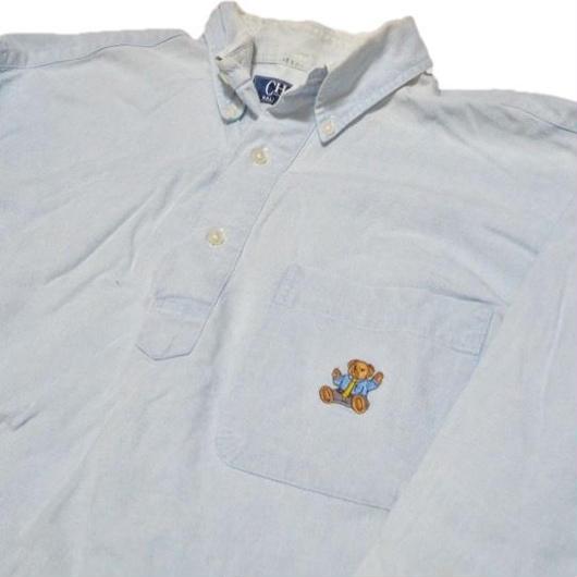 1990's RalphLauren POLOベアーシャツ【 激レア】プルオーバータイプ  表記(M )