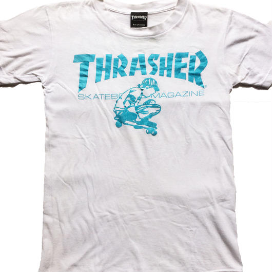 "2000's THRASHER t-shirt  ""made in USA"""