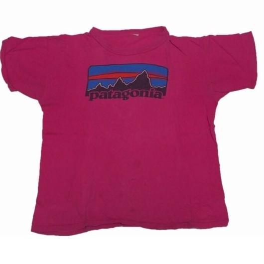 1980's patagonia LOGO t-shirts  実寸(S〜M )