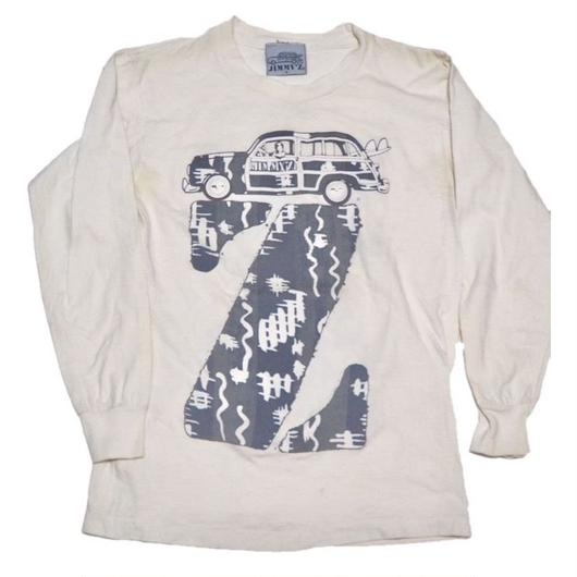 1980's〜 JIMMY'Z ウッディワゴン【希少なロンTEE】 表記(S)