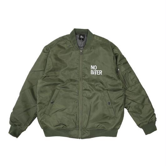 [NOBiTER/ノーバイター]中綿入り防水防風MA-1ジャケット nbt184046