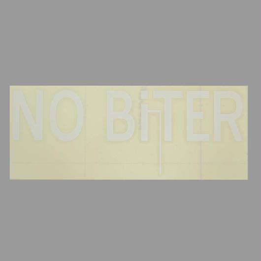 [NOBiTER/ノーバイター]NBロゴカッティングシート(大)(200ミリ×80ミリ) nbt1740004