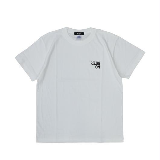 [NOBiTER/ノーバイター]男女兼用  GYAKUロゴ半袖Tシャツ nbt182017 5001-01