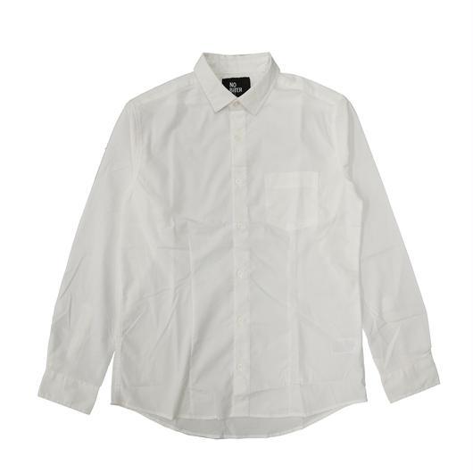 [NOBiTER/ノーバイター]男女兼用ロゴプリントストレッチシャツ  nbt182014