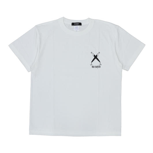 [NOBiTER/ノーバイター] 男女兼用 クロスミノー半袖Tシャツ  5001-01 nbt182018