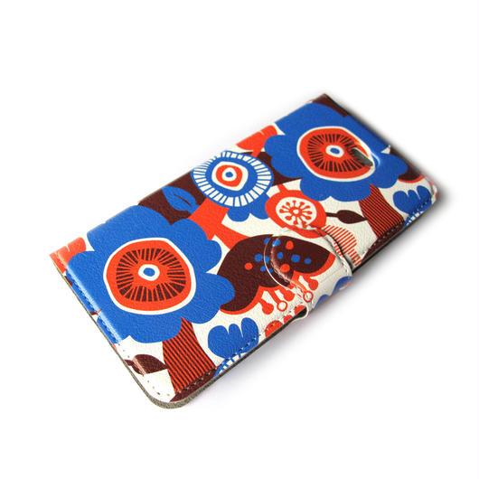 NOBORIYA iPhone7用 手帳型ケース 天空の花C
