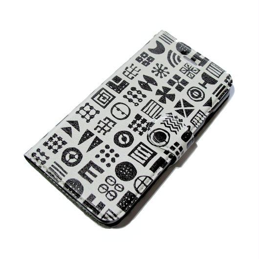 NOBORIYA iPhone6/6s用 手帳型ケース ヒエログリフ