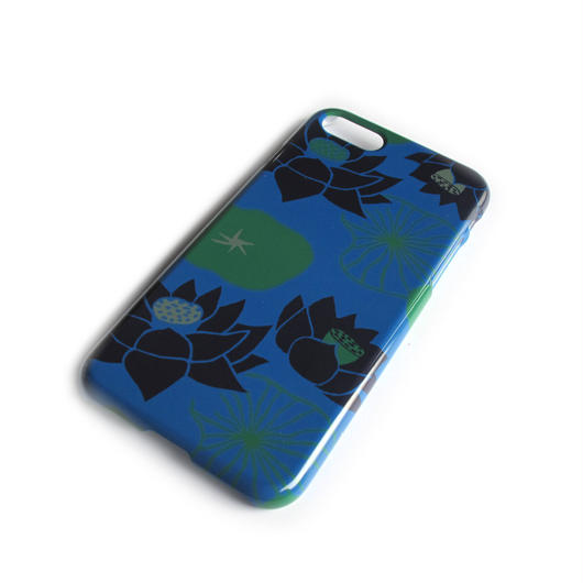 NOBORIYA iPhone7用ケース HASU(ブルー)