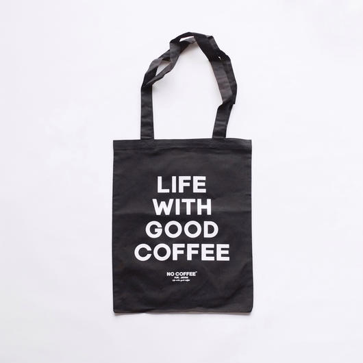 SOUVENIR TOTE BAG BLACK