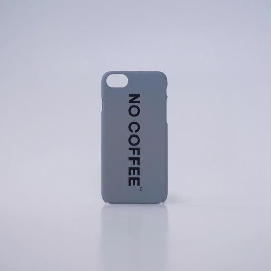 NO COFFEE iPhone7用ケース(グレー)