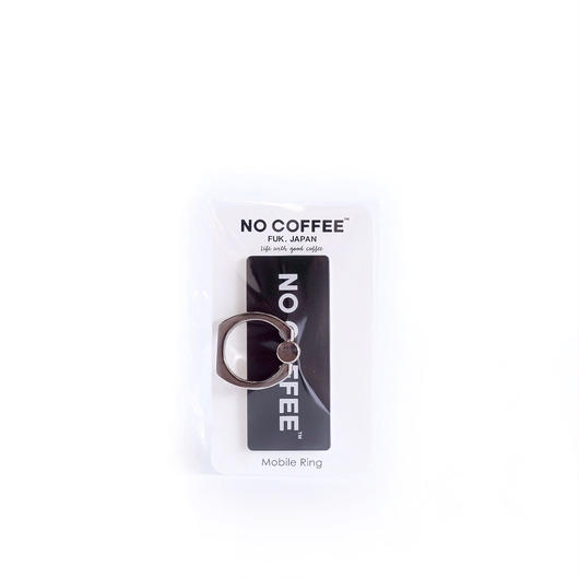 NO COFFEE Mobile Ring ロゴ(ブラック)