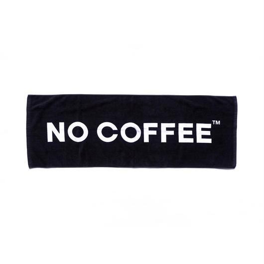 NO COFFEE ビーチタオル