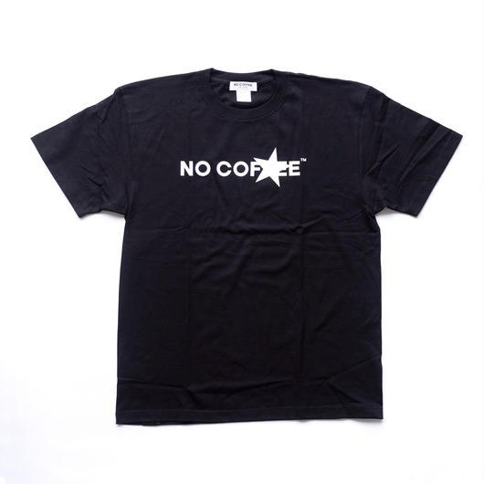 NO COFFEE × FIRSTORDER Tシャツ Ver.3 ブラック(ステッカー付き)
