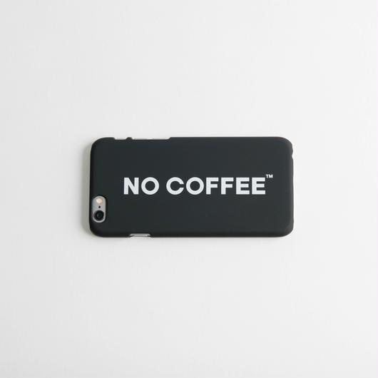 NO COFFEE iPhone6用ケース(ブラック)