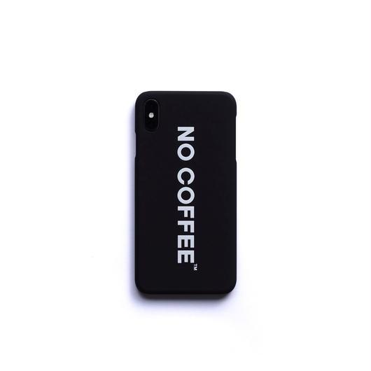 NO COFFEE iPhone Xs Max用ケース