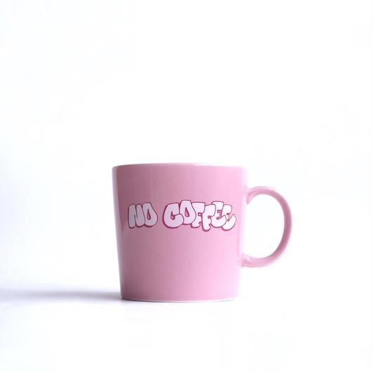 NO COFFEE×MR44 コラボマグカップ(ピンク)