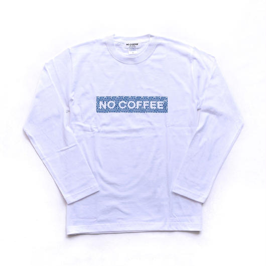 NO COFFEE × SEVESKIG LS Tシャツ( ホワイト)