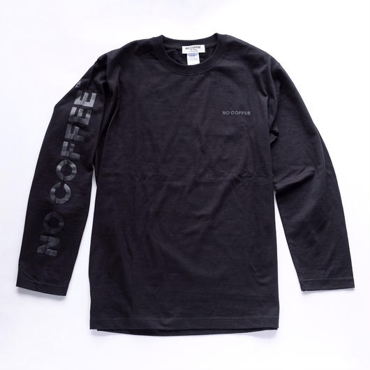 NO COFFEE BLACK LS Tシャツ